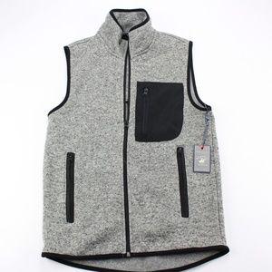 Beverly Hills Polo Club Men's Fleece Zip Up Sz S